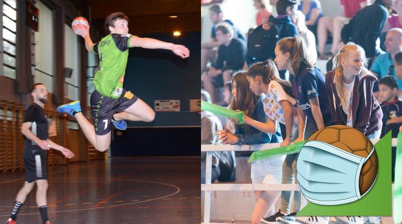 Mesures sanitaires obligatoires pour la reprise du handball !