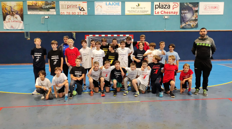 Le stage handball fait le plein !